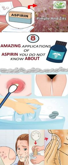 8 AMAZING APPLICATIONS OF ASPIRIN YOU DO NOT KNOW ABOUT