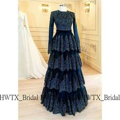27 Ideas For Bridal Dresses Indian Haute Couture Abaya Fashion, Fashion Moda, Muslim Fashion, Fashion Dresses, Party Wear Dresses, Bridal Dresses, Casual Dresses, Prom Dresses, Muslim Evening Dresses