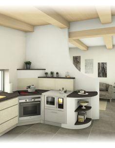 Herde - Tischherde - Sigmund Kachelofen und Fliesen Kitchen Cabinets, Interior, House, Austria, Home Decor, Houses, Kitchen Modern, Tiling, Tile