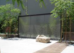 SQLA Inc. // West Hills Cafe Commercial Landscape Design, West Hills, Water Features, Garden, Water Sources, Garten, Lawn And Garden, Gardens, Gardening