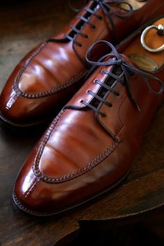 http://chicerman.com  theshoesrealist:  Edward Green Dover  #menshoes