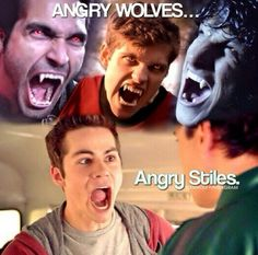 I cant amajen if stiles was a werwolf good he would probualy be more cute