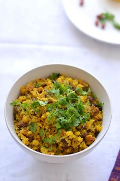 Vatli dal is a Maharashtrian delicacy, where ground lentils are cooked with mild spices. Coconut, raw mango and peanuts added make this an excellent summer dish
