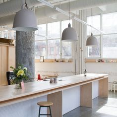 Dash Marshall converts pencil factory into Makeshift Society Brooklyn workspace