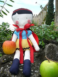 """Rag Doll: """" Snow white"""""""