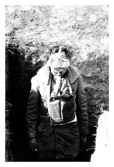 World War 1 saw the birth of poisonous gas used in warfare, with it first used by the Germans against the Allied Forces. As this had never been seen before during war, the design of Gas Masks for mili