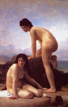 William Adolphe Bouguereau (French, 1825 - 1905) The Bathers, 1884, Art Institute of Chicago