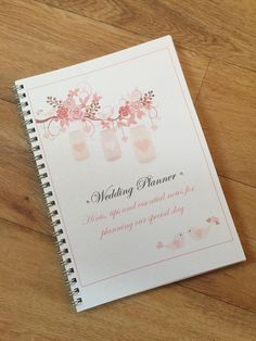 A5 Wedding Planner Bride To Be Journal Notebook