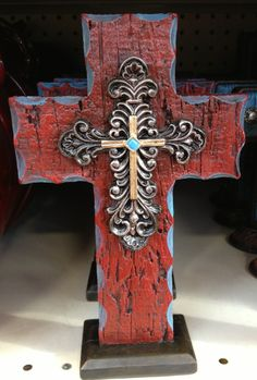 Western-color #Cross for $9.99