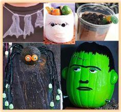 Five Crafty Halloween Ideas for Children