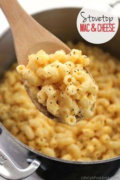 Stovetop Mac & Cheese 1
