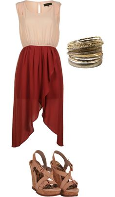 summer, created by skysensel on Polyvore
