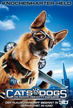 Poster zum Film: Cats & Dogs - Die Rache der Kitty Kahlohr