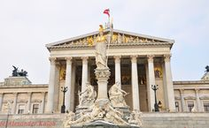 Vienna/Parlament Vienna, City, Places, Lugares