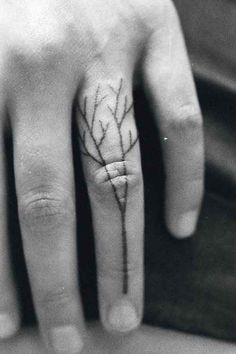 Finger | 33 Perfect Places For A Tattoo