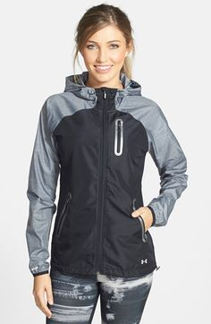 Combine Jewelry With Clothing - Womens Under Armour Qualifier Running Jacket - The jewels are essential to finish our looks. Discover the best tricks to combine jewelry with your favorite items Sporty Outfits, Athletic Outfits, Athletic Wear, Cute Outfits, Athletic Clothes, Gym Outfits, Fitness Outfits, Under Armour Femme, Under Armour Women