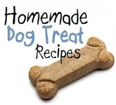 10 Dog Treat Recipes for Your Pooch--even more recipes :)