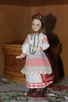 One of three Russian dolsl in national costume - Kaluga, Buryat and the festive costume of the don Cossack  eBay