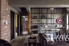 A Marvel Themed Apartment Interior