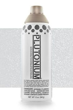 2nd Place Metallic Spray Paint. Get full coverage in just 1 coat with the best spray paint for furniture, DIYs, and crafts. Plutonium dries in 3-5 minutes with a hard, durable, satin finish. It is mold resistant with interchangeable pro caps. Higher pigment perfect for any metallic spray paint project. Take a look at our spray paint for any of your home improvement and home decor silver spray paint projects. #plutoniumpaint #spraypaintDIYs #spraypaintcolors #metallicspraypaint #silverspraypaint Spray Paint Crafts, Best Spray Paint, Spray Paint Projects, Craft Projects, Metallic Spray Paint Colors, Silver Spray Paint, Aerosol Spray Paint, Mold And Mildew, Spray Painting