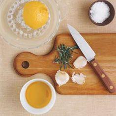 Rosemary, Lemon, and Garlic Rub