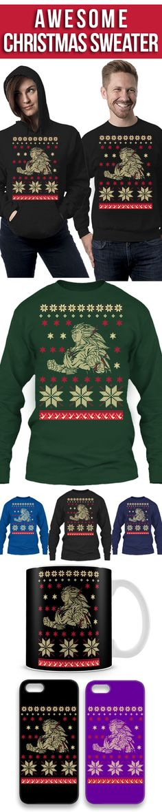 Guku Dragon Ball Ugly Christmas Sweater! Click The Image To Buy It Now or Tag Someone You Want To Buy This For. #dragonball