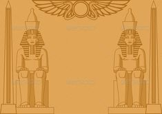 Egyptian Background | GraphicRiver