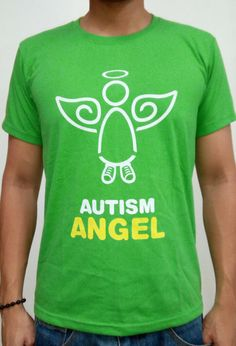 The Angels Walk for Autism is the country's biggest autism inclusion advocacy event.    Order this item at: https://autismall.myshopify.com/products/shirt-angels-walk-2013