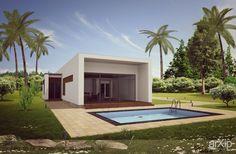 Эко дом ARTHUR: архитектура, зd визуализация, 1 эт   3м, жилье, хай-тек, 100 - 200 м2, фасад - штукатурка, фасад - дерево, коттедж, особняк, архитектура #architecture #3dvisualization #1fl_3m #housing #hitech #100_200m2 #facade_plaster #facade_wood #cottage #mansion #architecture