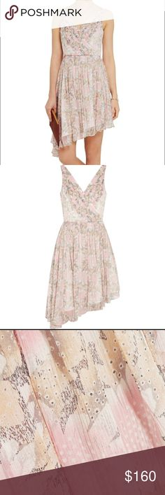 NWT Manette Floral Silk Elizabeth and James Dress Never worn NWT Elizabeth and James floral silk dress perfect for summer weddings or any fun occasion. SZ6 Elizabeth and James Dresses Wedding