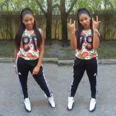 Grade: A  Wear This When You Going to The Mall Or School  #Nicole Janigail Bailey#