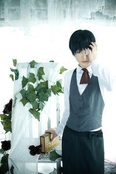 Kaneki Ken (by ryuichi randoll) | Tokyo Ghoul #anime #cosplay