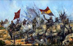 """Spain - - GC - """"International Brigade, Spain"""" by Jason Askew Military Art, Military History, Military Drawings, History Museum, Poster On, First Nations, World War Ii, Civilization, Vietnam"""