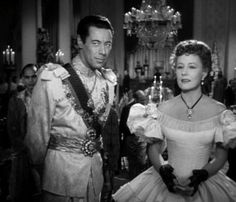 Rex Harrison and Irene Dunn in Anna and the King of Siam....truly a great movie...