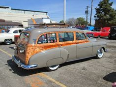 1951 Chevy woody wagon