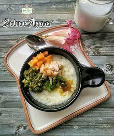 Chicken porridge Bubur ayam sehat