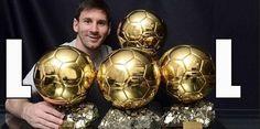 Argentyńczyk chwali się swoimi złotym piłkami za najlepszego piłkarza na świecie • Lionel Messi i jego loool • Wejdź i zobacz fotę >>