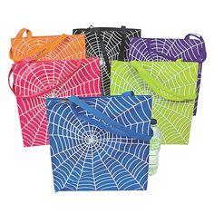 Large Spider Web Totes - OrientalTrading.com http://www.orientaltrading.com/large-spider-web-totes-a2-25_6139.fltr?Ntt=bugs