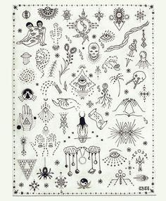 stick and poke tattoo flash sheet Archives - Bueno Company Hand Tattoos, Tattoo Platzierung, Piercing Tattoo, Get A Tattoo, Tattoo Drawings, Body Art Tattoos, Small Tattoos, Cool Tattoos, Piercings