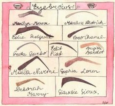 I'm a Maila Nurmi/Sophia Loren Perfect Eyebrow Shape, Perfect Brows, All Things Beauty, Beauty Make Up, Hair Beauty, Beauty Inside, Beauty Style, Sophia Loren, Smoky Eyes