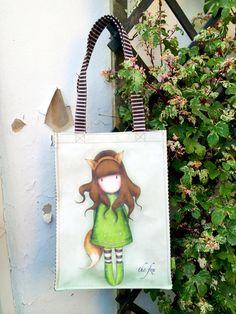 Gorjuss up the wall. Shop the collection here: http://www.santoro-london.com/shop/collections/gorjuss/