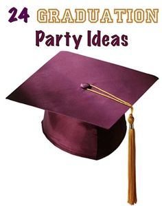 24 Creative Graduation Party Ideas!   {your grad will love these fun party ideas!!} #graduation #parties