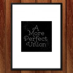 Print - A More Perfect Union 1 By J.D. Reeves