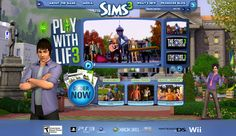 The Sims 3 Console Game Official Site