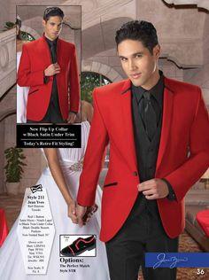 Red Illusions Tuxedo