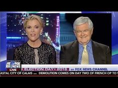 "SR1293 ""You're Fascinated w/ Sex!"" Newt Gingrich BLASTS Megyn Kelly -Cal..."