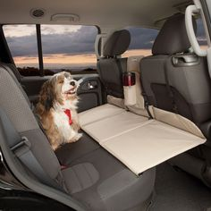Kurgo Backseat Bridge extends width of backseat for dogs. Keeps your pup out of the front seat ensuring dog safety. Makes comfortable dog bed of back seat. Cute Puppies, Cute Dogs, Dogs And Puppies, Doggies, Boxer Puppies, Cute Baby Animals, Funny Animals, Dog Car Seats, Car Dog Bed
