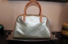 Louis Vuitton Tompkins Square Vernis Monogram Hand Bag $445 SALE
