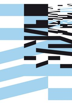 Graphic Design by Philippe Apeloig (b.1962), 2013, L'identifiant Voies navigables de France, Sérigraphie, Lézard Graphique, Brumath (Alsace)