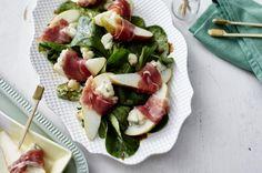 Unser beliebtes Rezept für Gorgonzola-Serrano-Birnen auf Feldsalat und mehr als 55.000 weitere kostenlose Rezepte auf LECKER.de.